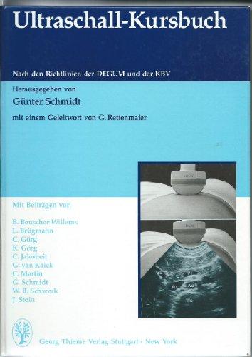 9783131191014: Ultraschall-Kursbuch:. Nach den Richtlinien der DEGUM und der KBV