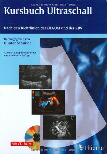 9783131191045: Kursbuch Ultraschall (mit CD-ROM): Nach den Richtlinien der DEGUM und der KBV