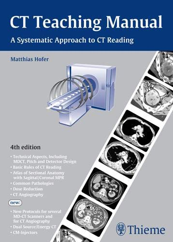 9783131243546: CT Teaching Manual: A Systematic Approach to CT Reading