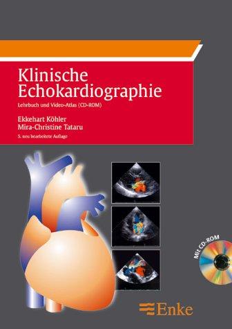 9783131249951: Klinische Echokardiographie, m. CD-ROM