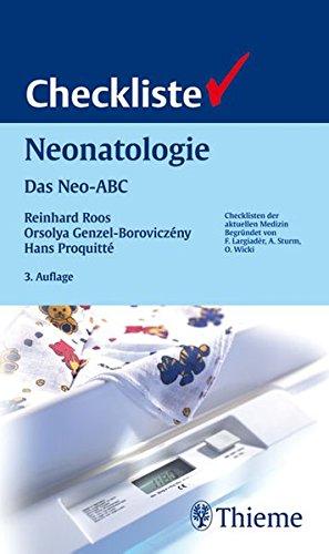 9783131250537: Checkliste Neonatologie