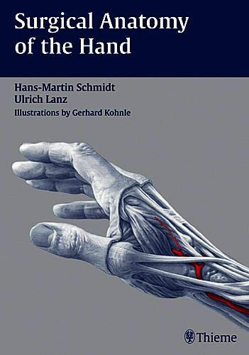 9783131252616: Surgical Anatomy of the Hand