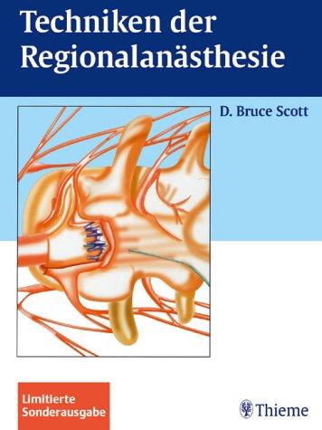 9783131284433: Techniken der Regionalanästhesie. Sonderausgabe.