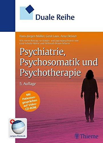 9783131285454: Psychiatrie, Psychosomatik und Psychotherapie
