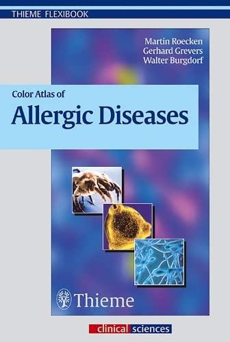 9783131291912: Color Atlas of Allergic Diseases (Thieme Flexibook)