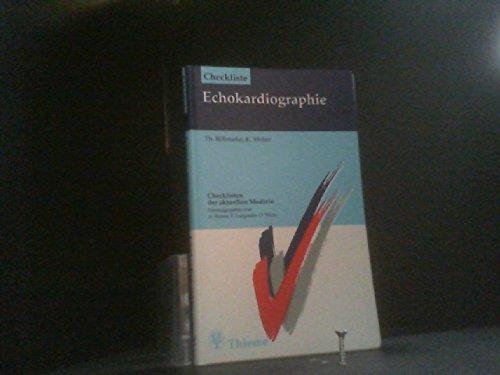 9783131294012: Checkliste Echokardiographie