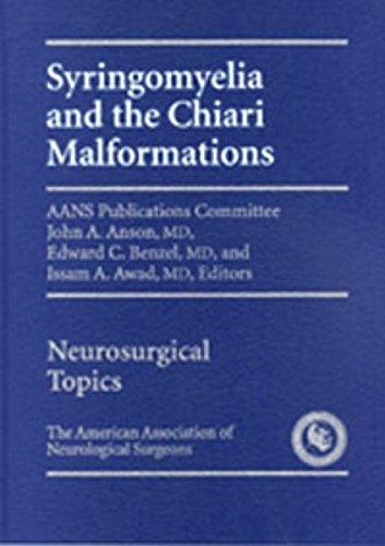 9783131324917: Syringomyelia and The Chiari Malformation