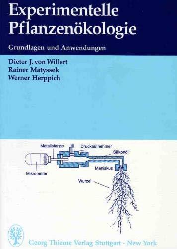 9783131344014: Experimentelle Pflanzenökologie. Grundlagen und Anwendungen