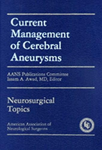 9783131347510: Current Management of Cerebral Aneurysms