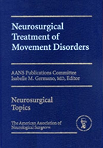 9783131349217: Neurosurgical Treatment of Movement Disorders