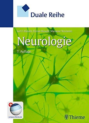 Duale Reihe Neurologie: Karl-Friedrich Masuhr