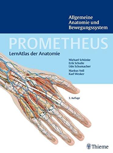 9783131395238: PROMETHEUS Allgemeine Anatomie und Bewegungssystem: LernAtlas der Anatomie