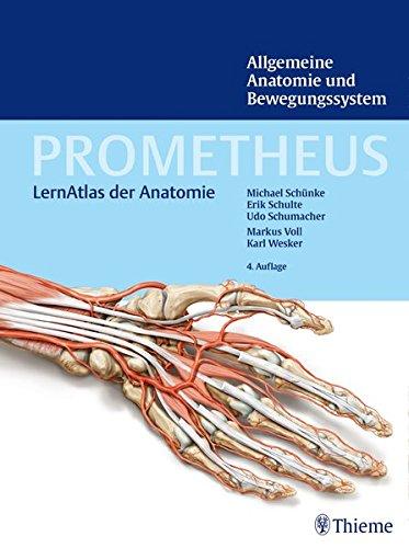 9783131395245: PROMETHEUS Allgemeine Anatomie und Bewegungssystem: LernAtlas der Anatomie