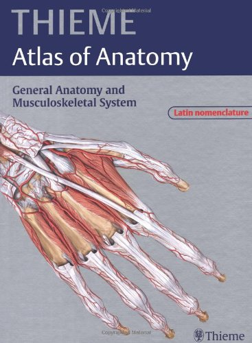 9783131405111: THIEME Atlas of Anatomy, Vol. 1: General Anatomy and Musculoskeletal System (Latin Nomenclature Edition)