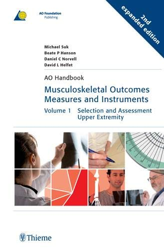 9783131410627: Musculoskeletal Outcomes Measures and Instruments (AO-Publishing)
