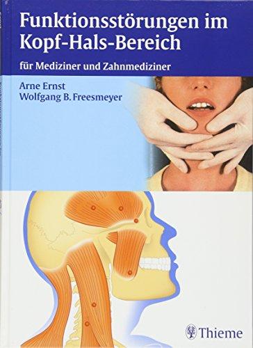 9783131414410: Funktionsstörungen im Kopf-Hals-Bereich: für ...