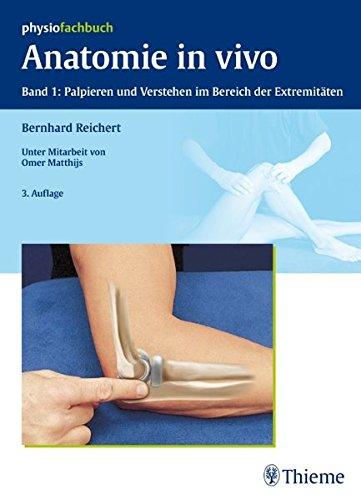 9783131420435: Anatomie in vivo 1: Palpieren und verstehen im ...
