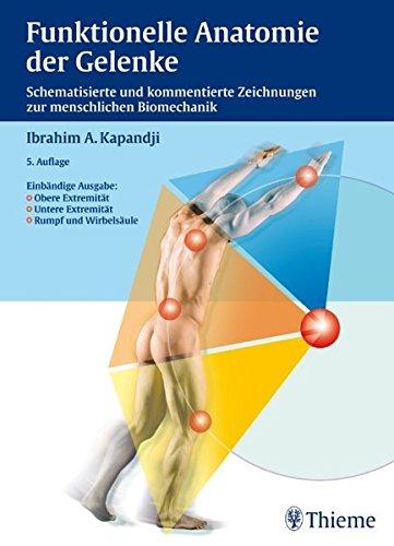 9783131422156: Funktionelle Anatomie der Gelenke. Obere Extremität - Untere Extremität - Rumpf und Wirbelsäule: Schematisierte und kommentierte Zeichnungen zur menschlichen Biomechanik