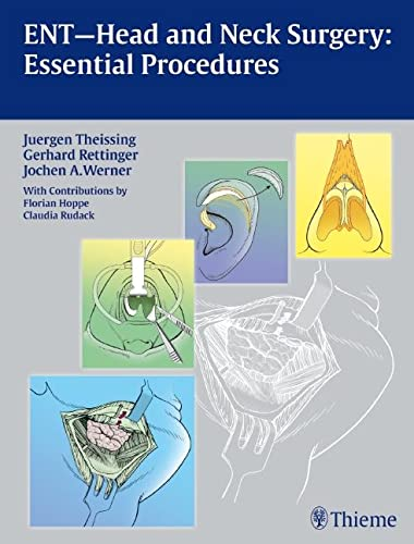 9783131486219: ENT Head and Neck Surgery: Essential Procedures