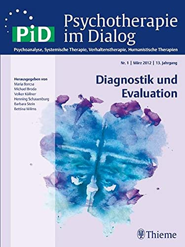 9783131700315: Psychotherapie im Dialog - Diagnostik und Evaluation