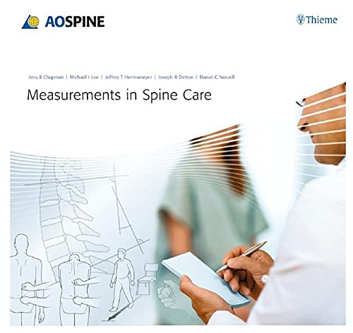 9783131711915: Measurements in Spine Care