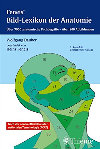 9783133301091: Feneis' Bild-Lexikon der Anatomie