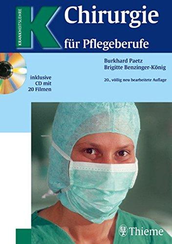 9783133329200: Chirurgie für Pflegeberufe