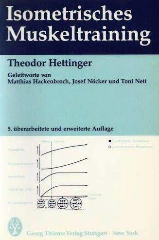 Isometrisches Muskeltraining: Theodor Hettinger