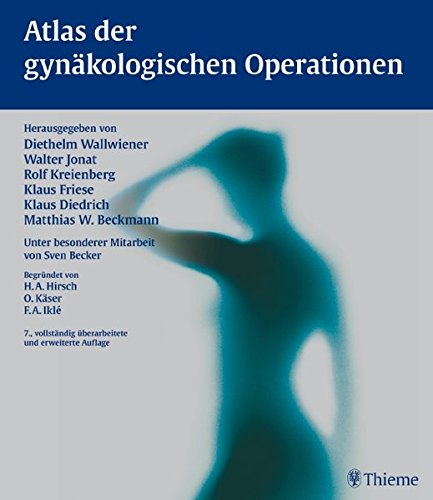 9783133570077: Atlas gynaekolog. Operationen