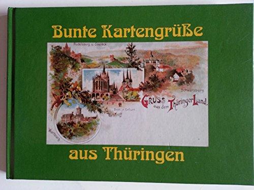 9783133680882: Bunte Kartengrüße aus Thüringen