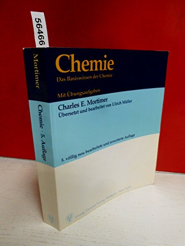 9783134843057: Chemie. Das Basiswissen der Chemie. Mit Übungsaufgaben