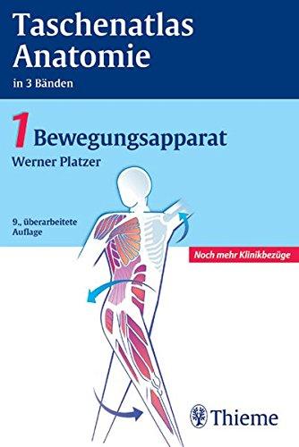9783134920093: Taschenatlas der Anatomie 1. Bewegungsapparat