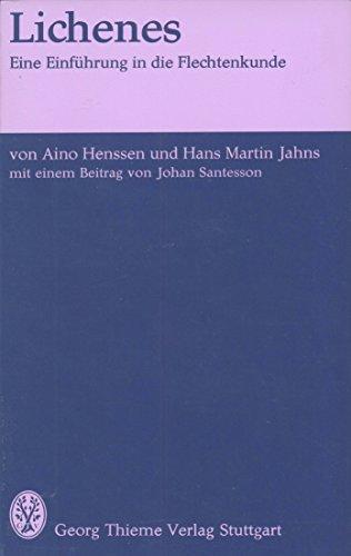 9783134966015: Lichenes: Eine Einführung in die Flechtenkunde (Flexibles Taschenbuch) (German Edition)