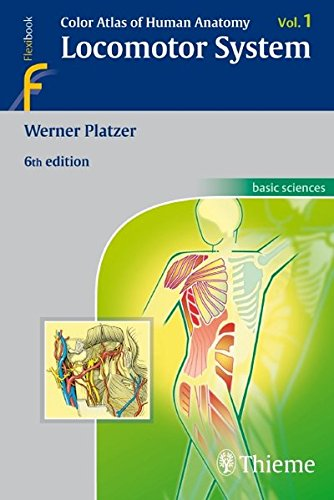 9783135333069: Color Atlas of Human Anatomy locomotor system, Vol. 1 (Flexibook)