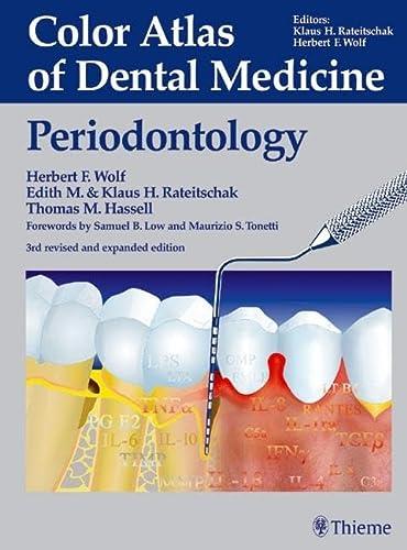9783136750032: Periodontology (Color atlas dent med)
