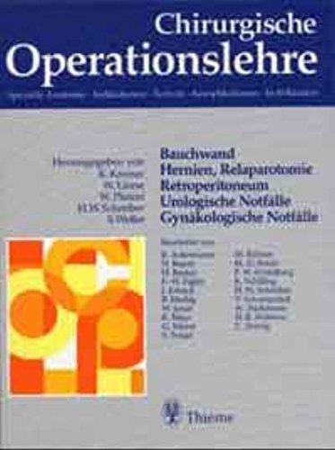 Chirurgische Operationslehre, 10 Bde. in 12 Tl.-Bdn.: Karl Kremer, Werner