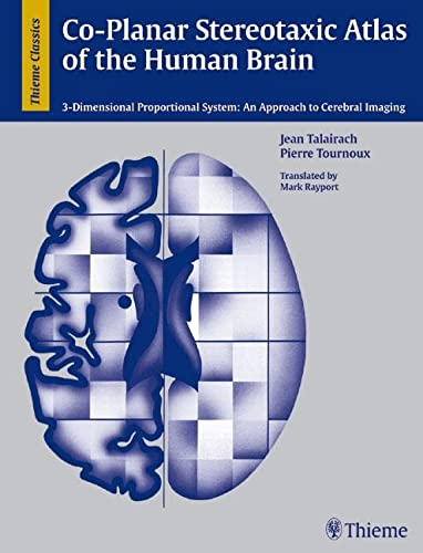 9783137117018: Co-Planar Stereotaxic Atlas of the Human Brain: 3-Dimensional Proportional System: an Approach to Cerebral Imaging
