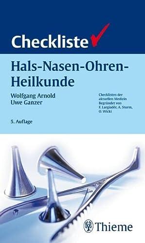 9783137402053: Checkliste Hals-Nasen-Ohren-Heilkunde