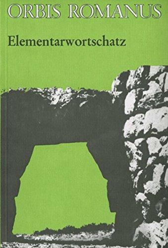 9783140103404: Orbis Romanus. Elementarwortschatz. (Lernmaterialien)