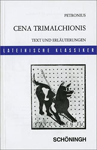 9783140109147: Cena Trimalchionis