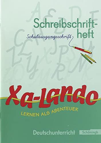 9783140133289: Xa-Lando 1. Neubarbeitung. Schreibschriftheft. Nordrhein-Westfalen.Schulausgangsschrift: Lernen als Abenteuer. Nordrhein-Westfalen. Lesen - Sprache - Sachunterricht
