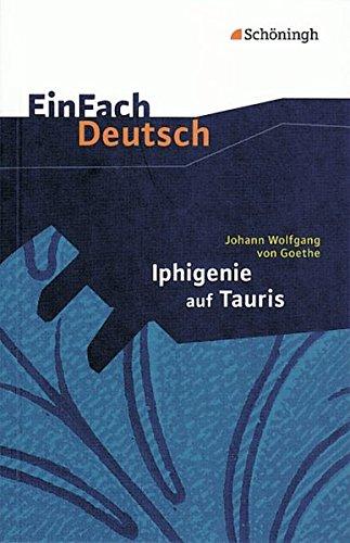 9783140223089: Einfach Deutsch: Iphigenie Auf Tauris