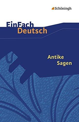 9783140223195: Antike Sagen. (Lernmaterialien)
