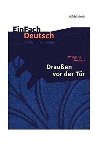 Der tur  9783140223409: Einfach Deutsch: Einfach Deutsch/Borchert/Draussen ...