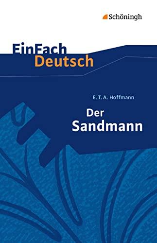 9783140223560: Einfach Deutsch: Der Sandmann (German Edition)