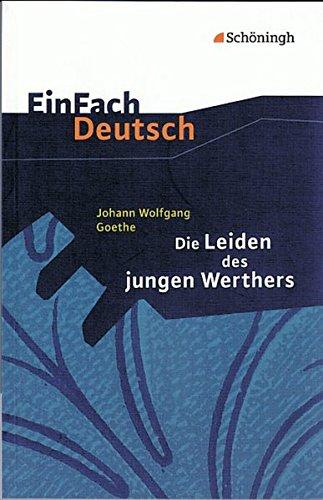 9783140223645: Einfach Deutsch: Die Leiden des jungen Werthers