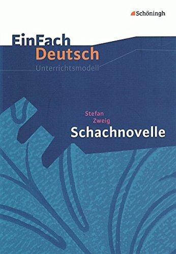 9783140224536: Einfach Deutsch: Schachnovelle