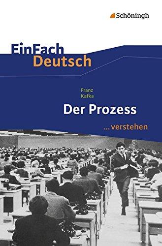 9783140225861: Der Prozess. EinFach Deutsch ...verstehen