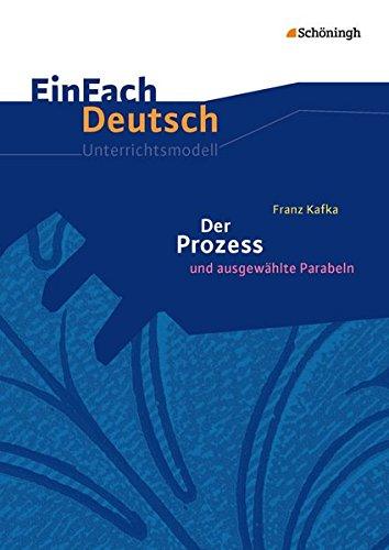 9783140225939: Der Prozess - Neubearbeitung. EinFach Deutsch Unterrichtsmodelle