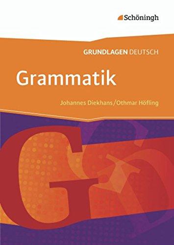 9783140251433: Grundlagen Deutsch. Grammatik. Neubearbeitung